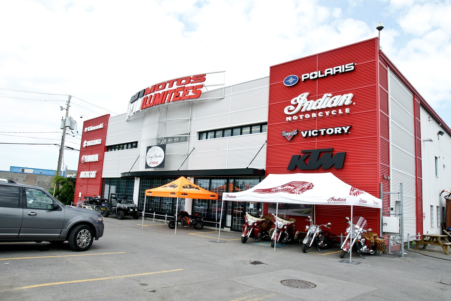 MONTREAL PREMIERE POWER-SPORTS DEALER CHOOSE METALIA