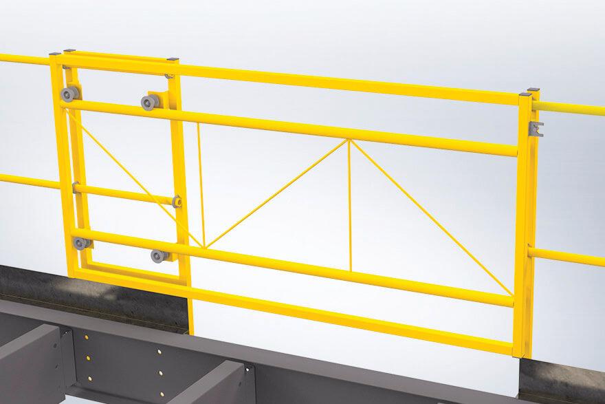 Freestanding metal mezzanine system   MSK Canada